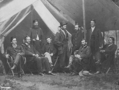 Analyzing a Photograph: Ely S. Parker and Ulysses S. Grant