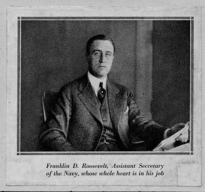 Franklin D. Roosevelt, Assistant Secretary of the Navy