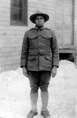 Charles Freeman in World War I