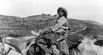 Refugee Child from Nablus, Palestine