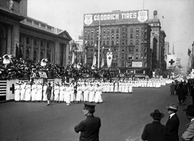 American Red Cross Parade, New York City
