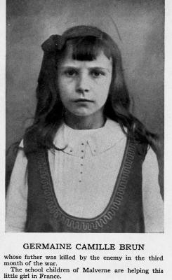 Germaine Camille Brun, a French Orphan