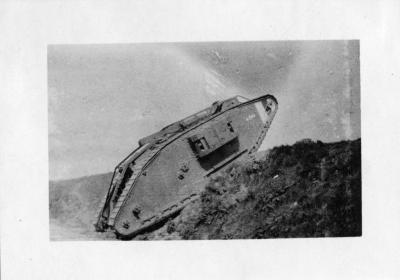 Canadian Tank, Arras, France