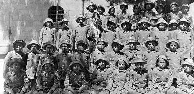 Armenian Orphans in Jerusalem, Palestine