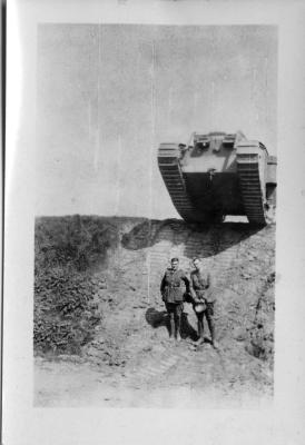 British Tank, France, July 1918