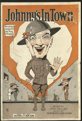 """""""Johnny's In Town,"""" Sheet Music, 1919"""