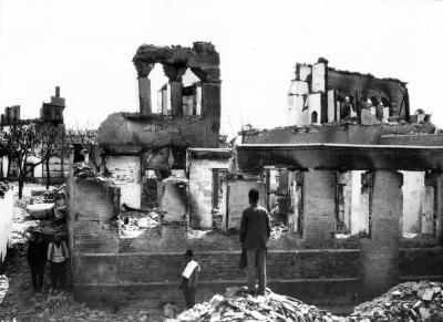 Destruction at Adana, Armenia