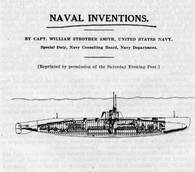 Naval Inventions Report Cover
