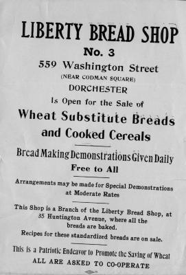 Liberty Bread Shop Poster
