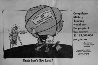 Compulsory Service Cartoon