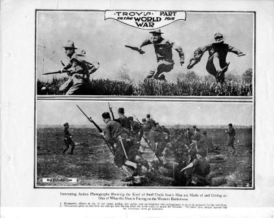 Troy Soldiers Charge